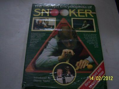 Ency of Snooker Rev by Morris, Ian Hardback Book The Cheap Fast Free Post