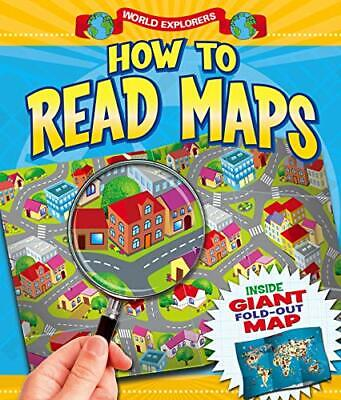 How to Read Maps (World Explorers) by Arcturus Publishing Book The Cheap Fast