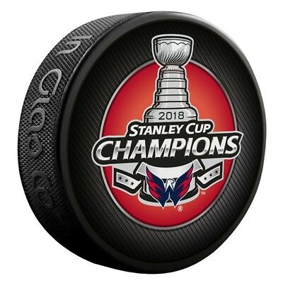 2018 NHL Stanley Cup Final Champions NHL Hockey Puck Washington Capitals