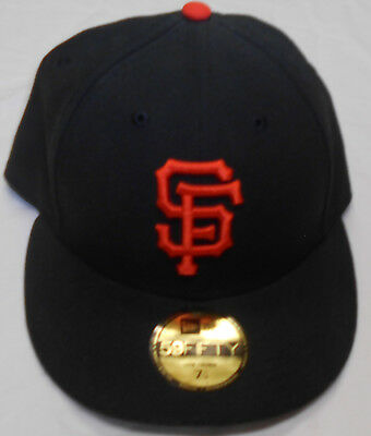ca57d1badb88f New Era MLB San Francisco Giants Authentic Collection On Field 59FIFTY Cap  Hat