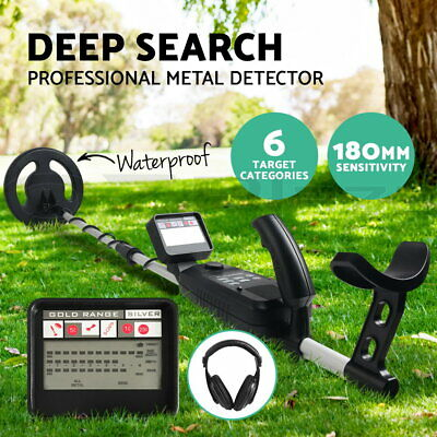 Metal Detector Deep Sensitive Searching LCD Screen Treasure Gold Hunter Gift