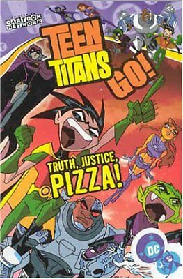 Truth, Justice, Pizza! (Teen Titans Go!) by Torres, J. Book The Cheap Fast Free