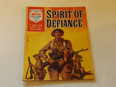 BATTLE PICTURE LIBRARY NO 264,dated 1966!,GOOD FOR AGE,VERY RARE,52 yrs old.