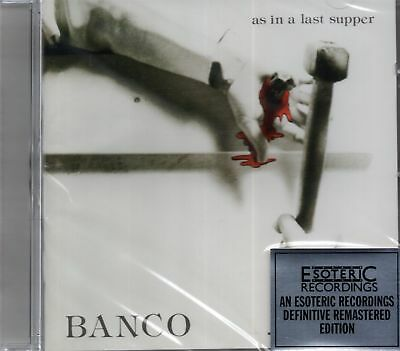 Banco - As In A Last Supper (1976 Album Remastered) 2010 CD (New & Sealed)