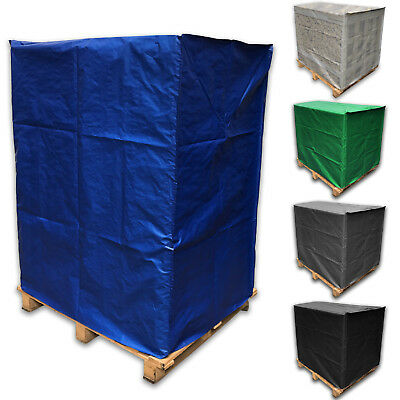 Reusable Fitted Weatherproof Pallet Cover Strong Lightweight Tarp Tarpaulin