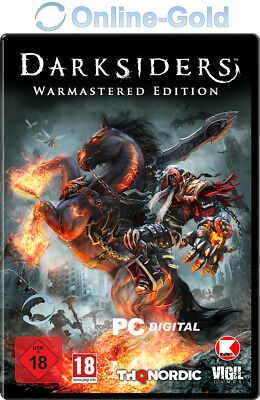 Darksiders Warmastered Edition Key Steam Download Code PC RPG Digital Key EU/DE