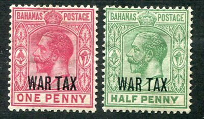 BAHAMAS  MR6, MR7  Very Nice Mint Hinged Issues  UPTOWN 39142