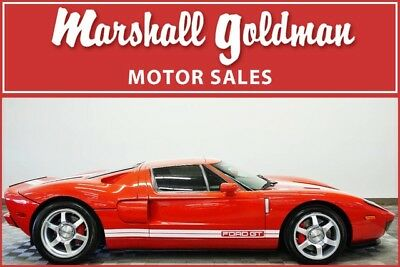 2005 Ford Ford GT  2006 Ford GT Mark IV Red 3 option car and only 1971 miles!