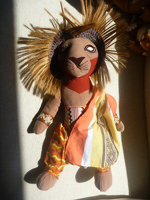 Rare LIMITED EDITION The Lion King Broadway Musical  Simba Soft Toy / Plush
