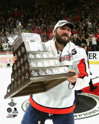 5819d44c8bf Alex Ovechkin Washington Capitals Stanley Cup Trophy Photo VI038 (Select  Size)