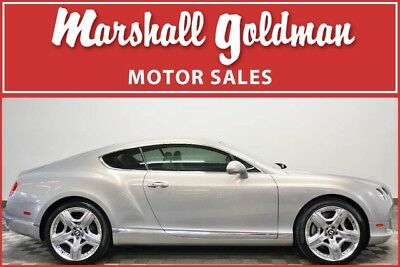 2012 Bentley Continental GT  2012 Bentley Continental GT Extreme Silver over Linen leather 18,800 miles