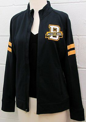 Boston Bruins Women S Nhl Jacket Full Zip Embroidered Hockey Black