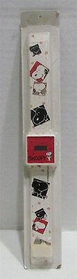 1987 Snoopy Digital Watch MIP, Disposable Watch Company