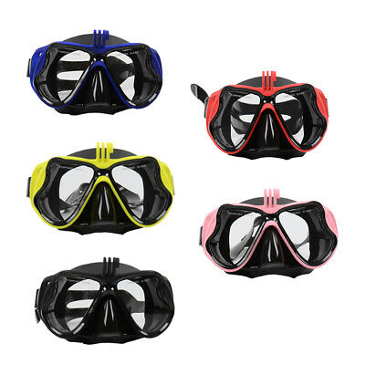 16c9a0d31 Camera Mount Diving Mask Scuba Snorkel Swimming Goggles For GoPro Camera