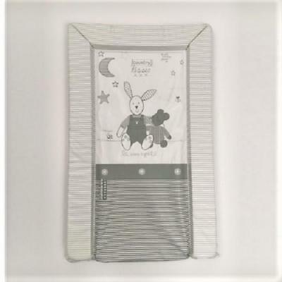 East Coast Country Kisses Grey Changing Mat (Universal and Padded)