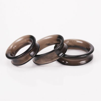 One Set of 3PCS Foreskin Resistance Ring Delay Ring Male Lock Ring