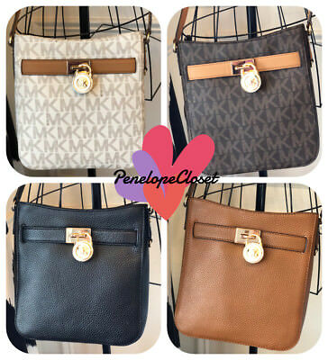 929c9a8b742f Nwt Michael Kors Pvc Or Leather Hamilton Traveler Crossbody Bag In Various