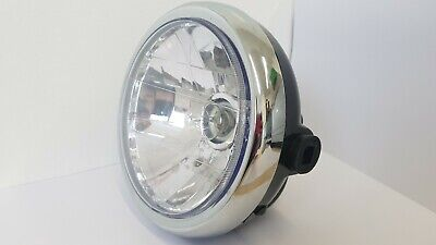 "7"" Cafe Racer Brat Bike Chopper Bobber Custom Front Round Headlight"