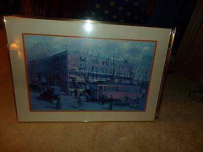 "Barclay Rubincam Rare Print West Chester Pa. ""At The Turn Of The Century"""