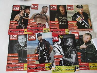 8 x Gay Magazine (Box)  Schwul