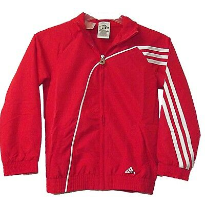 NEW BOYS GIRLS RETRO ADIDAS CLIMA COOL FULL ZIP FRONT TRACKSUIT TOP 7-16 years