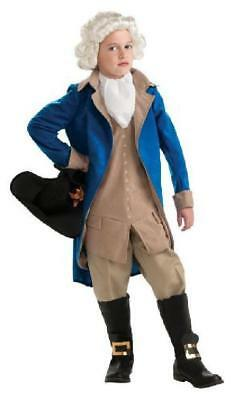 Patriotic parade George Washington Costume, Large Rubie'S Child'S Deluxe