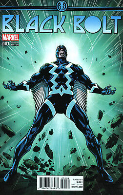 Black Bolt #1 Christian Ward Ratio Variant - Marvel Comics