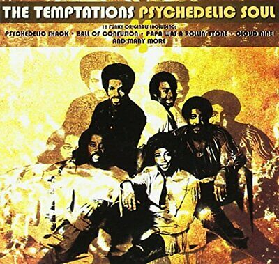 The Temptations - Psychedelic Soul - The Temptations CD LVVG The Cheap Fast Free