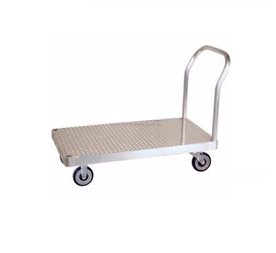 """Aluminum 24"""" x 48"""" Some Assembly Required Platform Truck 2500# Cap"""