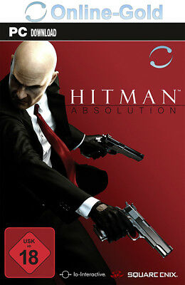 Hitman Absolution Key - STEAM Download Code - PC Game Standard Version [DE/EU]