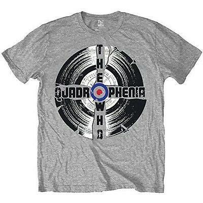 The Who - Quadrophenia Short Sleeve Grey Cotton T-Shirt - New & Official