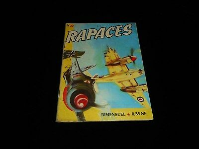 Rapaces 22 Editions Imperia 2° trimestre 1961