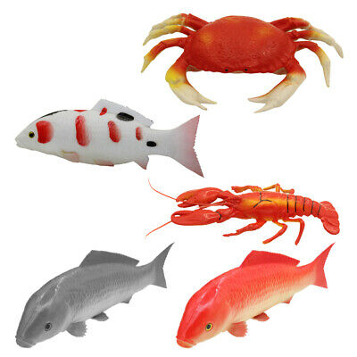 Artificial Fake Plastic Seafood Food Kitchen Party Table Decorative, Lifelike