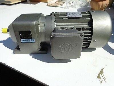 New Nord Gear Reducer Drive Motor MTR. 90 S/4CUS No. NM34114502/0527 SF1, 15