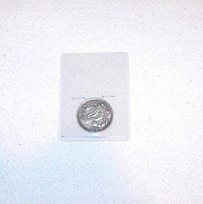 Silver Color - Metal Unknown - Asian Coin - Pkg #c 1