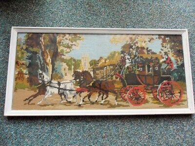 Tapestry: Coach and Horses, from 1970s