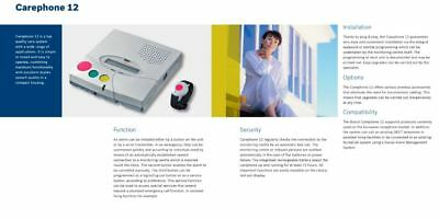 Bosch Carephone 12 Emergency Call and Monitoring  System