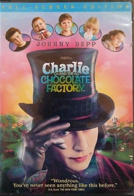 Charlie and the Chocolate Factory (DVD, 2005, Full SCREEN EDITION) MOVIE FUN!