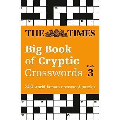 The Times Big Book of Cryptic Crosswords Book 3 (Times  - Paperback NEW The Time