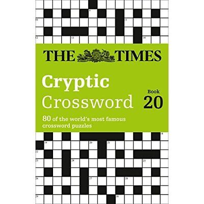 The Times Cryptic Crossword Book 20 (Crosswords) - Paperback NEW The Times Mind
