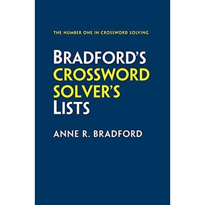 Collins Bradford's Crossword Solver's Lists - Paperback NEW Anne R. Bradfor 03/0
