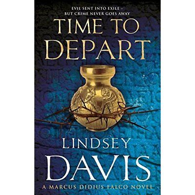 Time To Depart: (Falco 7) - Paperback NEW Lindsey Davis(A 2008-08-07