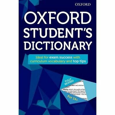 Oxford Student's Dictionary (Oxford Dictionary) - Hardcover NEW Oxford Dictiona
