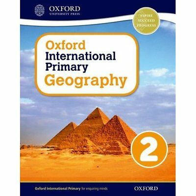 Oxford International Primary Geography: Student Book 2 - Paperback NEW Terry Jen