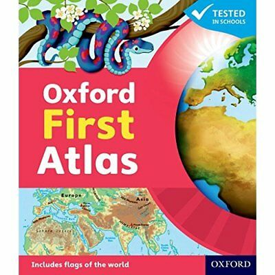 Oxford First Atlas Hardback 2011 - Hardcover NEW  2011-01