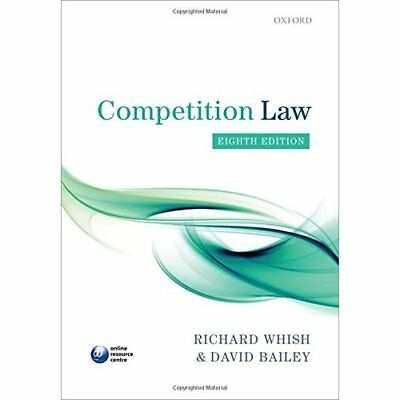 Competition Law - Paperback NEW Richard Whish ( 2015-07-30