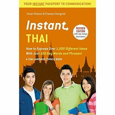 Instant Thai: How to Express 1,000 Different Ideas with - Paperback NEW Stuart R