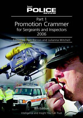 Promotion Crammer for Sergeants and Inspector... by Mitchell, Julianna Paperback