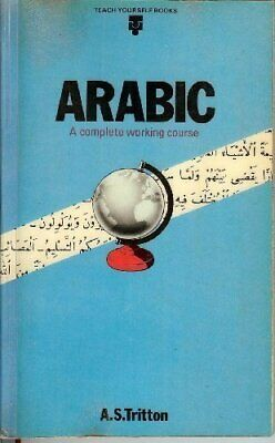 Arabic (Teach Yourself) by Tritton, A. S. Hardback Book The Cheap Fast Free Post