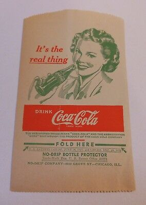"Vintage Coca Cola 1948 Dry Server ""Its the Real Thing"" #2"